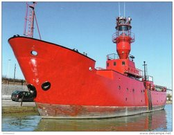 Postcard - Lightvessel 21, Gillingham, Kent. SMH30 - Lighthouses