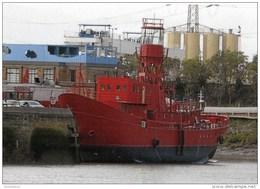 Postcard - Lightvessel 95, Trinity Wharf, London - SMH100 - Lighthouses