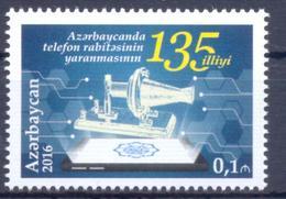 2016. Azerbaijan, 135y Of Phone, 1v, Mint/** - Azerbaïjan