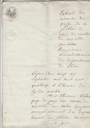 DOCUMENT NOTARIAL DE 1814 NEUVILLE SUR SAONE - LEVEE DE SCELLES CABARET DE JOSEPH BERGERON A CALUIRE - DOCUMENT 6 PAGES- - Seals Of Generality