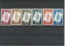 ESPAÑA EDIFIL  1200/05  MNH  ** - 1951-60 Nuevos & Fijasellos