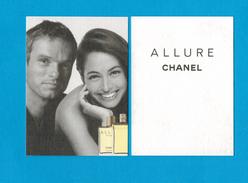 Cartes Parfumées Carte CHANEL ALLURE     De CHANEL - Modern (vanaf 1961)