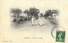 Tipaza (Algérie) - Sortie Du Village - Photo Geiser - Algeria