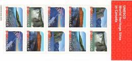 Canada MNH 2014    Booklet  UNESCO - 1952-.... Regno Di Elizabeth II