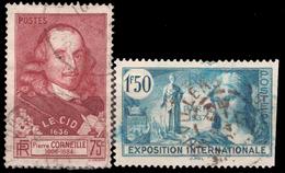 YT 335 Et 336 - 1870 Bordeaux Printing