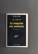 """SERIE  NOIRE   N °  1307  --  LOU  CAMERON  --  """"""""  LA  ROUQUINE  AUX  SOMMIERS  """"""""  --  1969.......... - Série Noire"""