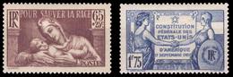 YT 356 Et 357 Neufs - Frankreich