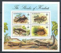 191 KIRIBATI 1987 - Yvert BF 8 - Reptile Lezard -  Neuf ** (MNH) Sans Trace De Charniere - Kiribati (1979-...)