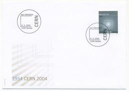 """SUISSE - 2 Enveloppes FDC """"CERN 2004"""" - Genève - FDC"""
