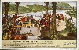 COMPAGNIE LIEBIG - CHROMO - L'Histoire De Nos Provinces N° 4 - Namur - Don Juan Et Marguerite De Navarre (1577) - En TBE - Liebig