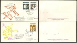Fdc Venetia Rsm 1989 289sm Nureyev 2 Buste - FDC
