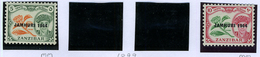 1964 - ZANZIBAR - Catg.. Mi. 261/262 -  LH - (I-SRA3207.15) - Zanzibar (1963-1968)
