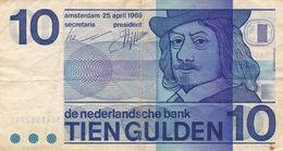 Netherlands 10 Gulden 1968 F P-91 - Pays-Bas