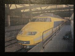 """Lot De 4 Cartes TGV """"la Poste"""" / Postal  (tirages Limités) - Trains"""