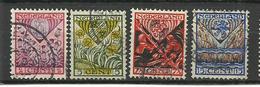 Netherlands 1927 Canc. - Oblitérés
