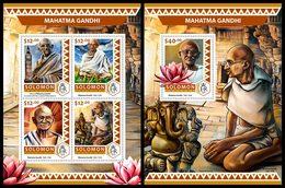 SOLOMON Isl. 2016 - Mahatma Gandhi. M/S + S/S