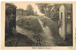 """255 14/18 Toute La """"Kultur""""spotprent - Guerre 1914-18"""