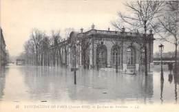 PARIS - INONDATIONS 1910 - Crue De La Seine : La Gare Des Invalides - CPA - - Paris Flood, 1910