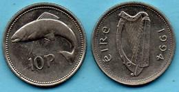 R80/  IRLANDE / IRELAND / EIRE  10 PENCE 1994 - Irlande