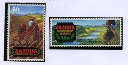 1972 - ZAMBIA - Catg.. Mi. 481+83 -  NH - (I-SRA3207.16) - Zambia (1965-...)
