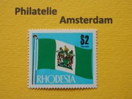 Rhodesia 1970, FLAGS VLAGGEN FLAGGEN DRAPEAUX BANDERAS BANDIERINE: Mi 101 , ** - Stamps