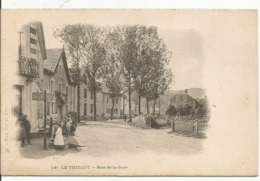 LE TILLOT......VOSGES.....rue De La Gare.....bonne Animation.......PIONNIERE.. - Le Thillot
