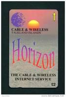 FALKLAND ISLANDS - Magnetic GPT Phonecard/Horizon Issue/Tirage 1000 Pieces