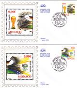 MONACO    Enveloppe  2006  Y.T. N° 2539  2540   Oblitéré - Usati