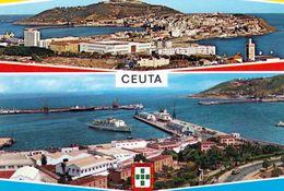 1 AK Ceuta * Ansichten Von Ceuta - Exklave Spaniens Auf Dem Afrikanischen Kontinent An Der Straße Von Gibraltar * - Ceuta