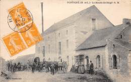 49 - MAINE ET LOIRE / Pontigné - Le Moulin De Singré - Beau Cliché Animé - Other Municipalities