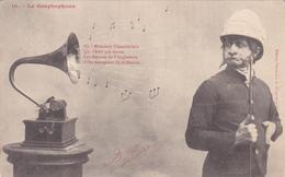 CPA Graphophone Phonographe Gramophone Musique Music N° 10 - Otros