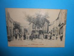 11 ) 01 - Fitou - N°976 - La Place -  EDIT - Brun Frères - France
