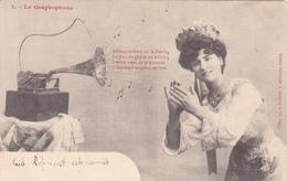 CPA Graphophone Phonographe Gramophone Musique Music La Marseillaise N° 1 - Otros