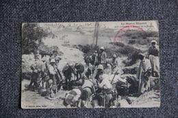 Campagne Du MAROC, 1913 - AIN LOURMA, Militaires Coloniaux Autour De La Source. - Guerres - Autres