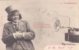 CPA Graphophone Phonographe Gramophone Musique Music Trogne Vermeille N° 4 - Otros