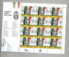 JU027 - JUVENTUS CAMPIONE D'ITALIA Mf 12 V. - Nuovo - Club Mitici