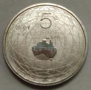 5 EUROS HOLANDA (PAÍSES BAJOS) 2006 PLATA (400 ANIV. LLEGADA A AUSTRALIA DE W. JANSZOON) - Paises Bajos