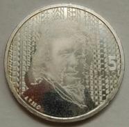 5 EUROS HOLANDA (PAÍSES BAJOS) 2006 PLATA (IV CENT. NACIMIENTO REMBRANDT) - Paises Bajos
