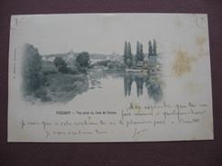 CPA 58 PREMERY Vue Prise Du Pont De Nevers PRECURSEUR  1900  Canton LA CHARITE SUR LOIRE - France