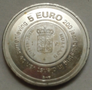 5 EUROS HOLANDA (PAÍSES BAJOS) 2006 PLATA (200 ANIV. HACIENDA HOLANDESA) - Paises Bajos