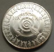 5 EUROS HOLANDA (PAÍSES BAJOS) 2010 PLATA (150 ANIV. PUBLICACION MAX HAVELAAR) - Paises Bajos
