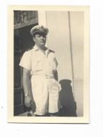 FOTO UFFICIALE MARINA CASERMA BUFFOLUTO 1953  - MISURE CM.10X7 - Guerra, Militari