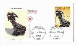 Enveloppes  1er Jour FDC .2000 1 Enveloppe Camille Claudel - FDC