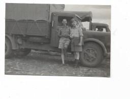 COLONIALISMO ITALIANO BAIDOA 1950   - MISURE CM.9X6 - War, Military