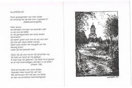 Lokeren: 1992, Overledenen St.-Laurentiusparochie( 2 Scans) - Devotion Images