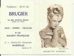 Calandrier 1961 Brigitte Bardot - Petit Format : 1961-70
