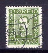 Dänemark Nr.140         O  Used       (362) - 1913-47 (Christian X)