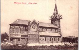 02 CHARMES - L'église Saint Remi (construction Du Clocher) - Autres Communes