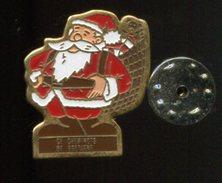 Pin´s - Pere Noel - Ce CHEMINOTS DE BRETAGNE - Christmas