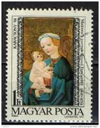 HUNGARY , Hongrie  - 1984 - NATALE: MADONNA - CHRISTMAS  - Used (Lot - 900)